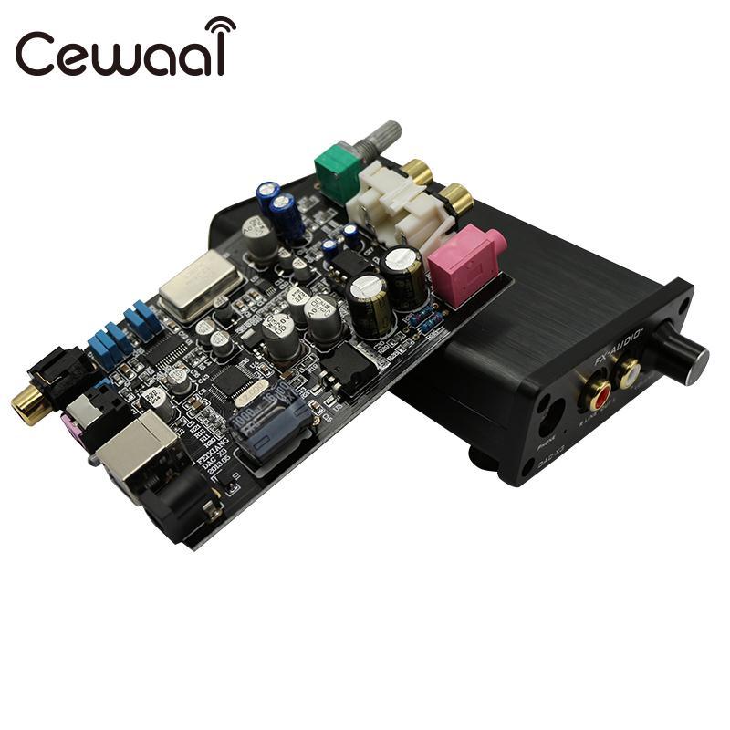 Amplificateur Audio HIFI amplificateur casque HIFI professionnel décodeur vidéo Fiber coaxiale FX Audio stéréo