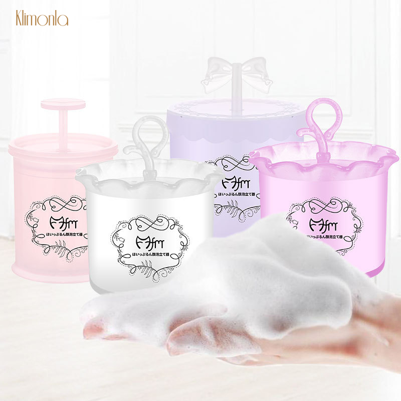 New 8 Designs Facial Cleanser Foam Cup Unisex Beauty Maker Bubble Device Whipped Bottle Face Cleaning Makeup Tools