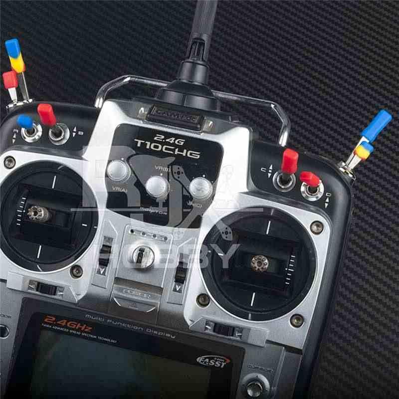 10 CHIẾC RJXHobby Silicon Chống trơn trượt Bộ Phát Bật Nắp cho Frsky Fsfly Máy Phát Vô Tuyến RC Mô Hình Các Bộ Phận Dự Phòng DIY accs