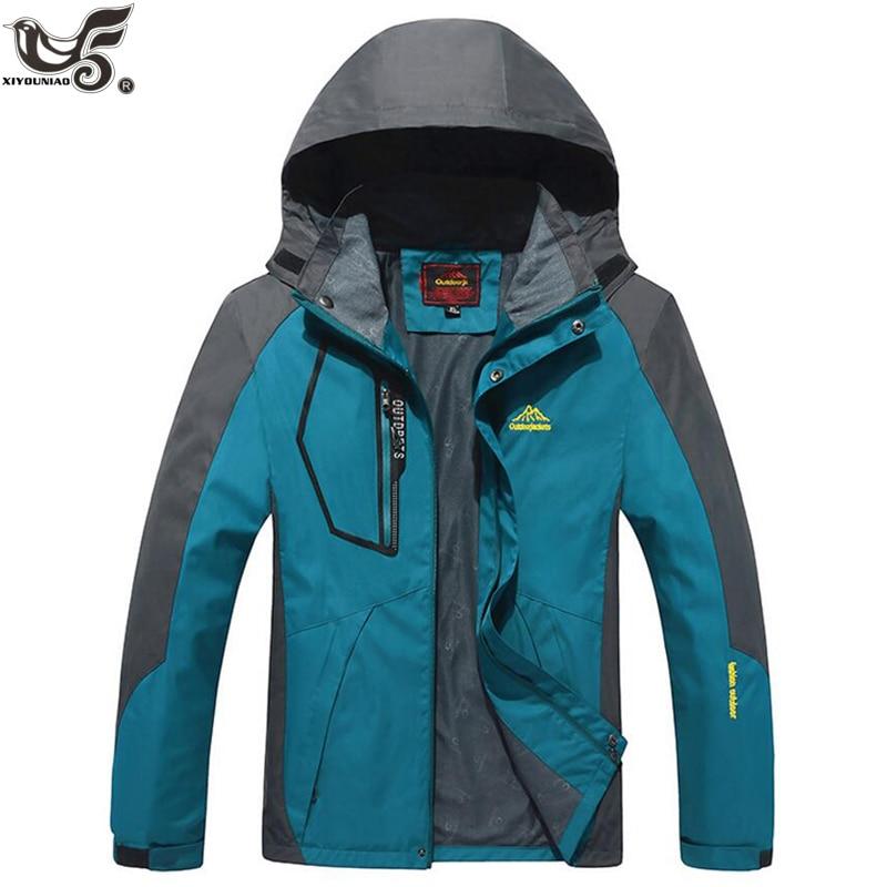 XIYOUNIAO Plus Size L~6XL 7XL 8XL 9XL New Men's Waterproof Windpoof Jackets Men Spring Autumn Jacket Coats Male Brand Clothing