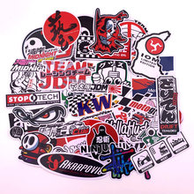 40Pcs Funny Cartoon Stickers Decal For Car Motorcycle Helmet ATV Luggage Skateboard Bicycle Fridge Laptop Mobile Phone DIY Vinyl(China)