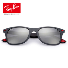 8f53387182 Ray·Ban RayBan Men s Wayfarer Liteforce Polarized Square Sunglasses  RB4195MF-F602 H2