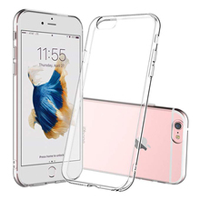 Phone Cases Clear Transparent TPU For iPhone 5 6 6s 7 8 X XS