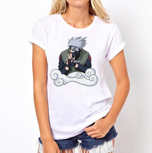 Classic Naruto women t-shirt
