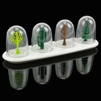 Four Seasons Plant Spice Jar 4pcs Set Creative Animals Seasoning Bottle Salt Sugar Pepper Shaker Cooking