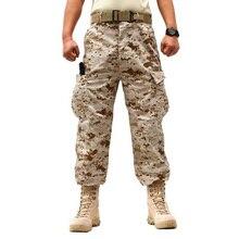 Military Hosen 2017 Marke Neue Camouflage Militärarmee Baumwolle Cargo-hosen Tasche Dekoriert Hosen Plus Größe XS-XXL