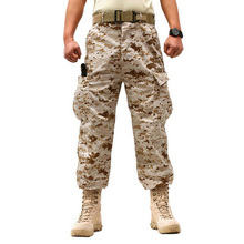 Military Trousers 2017 Brand New Camouflage Military Army Cotton Cargo Pants Pocket Decorated Pants Plus Size XS-XXL