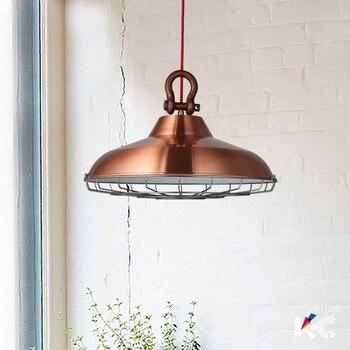 Luminaria Modern Fashion LED Iron Industry Pendant Lamp for Dining Room Restaurant Hanglamp Kitchen Home Decor Light Fixtures