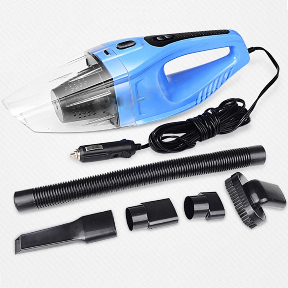 120W Portable Super Suction Car Vacuum Cleaner Wet And Dry Dual Use Handheld Mini Vaccum Cleaner For Car Cigarette Lighter 12V