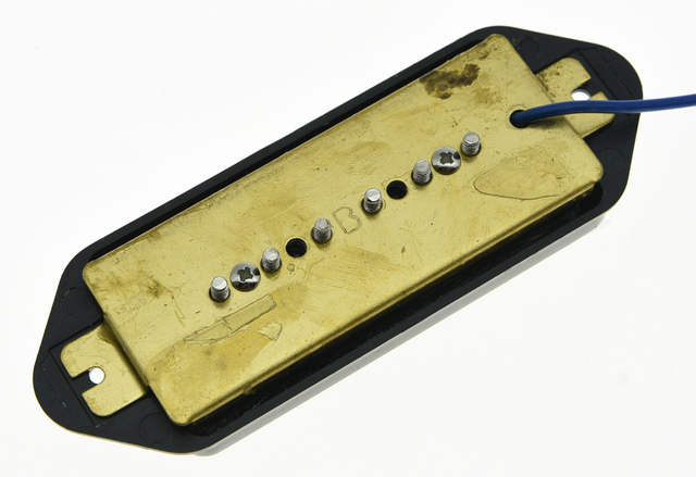 US $9 7 9% OFF Black P90 High Power Sound Dogear BRIDGE Pickup Soapbar  Guitar Pickups-in Guitar Parts & Accessories from Sports & Entertainment on