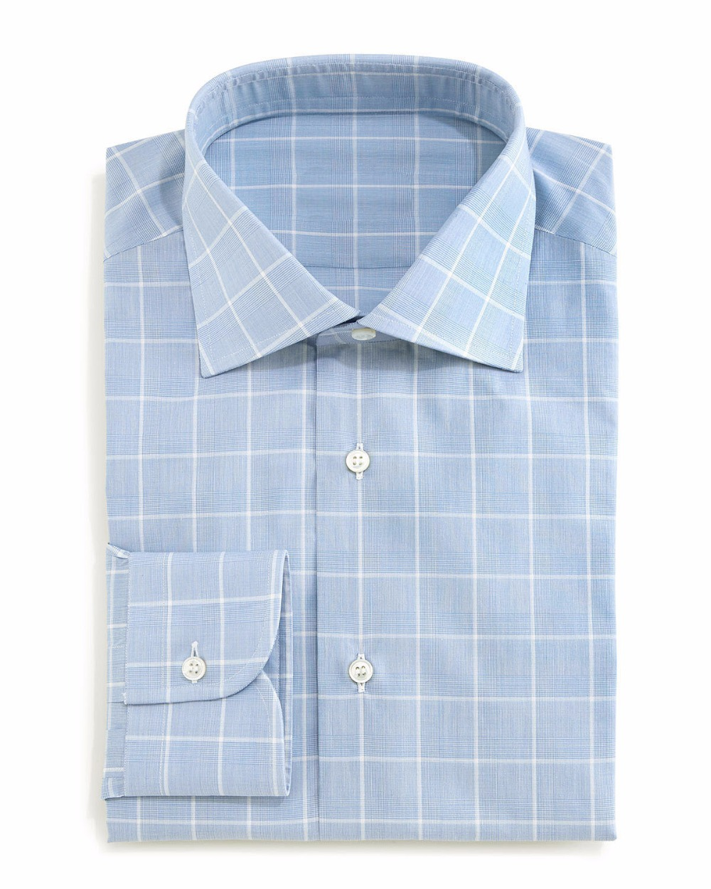 Buy large windowpane and glen plaid dress for Tailor made dress shirts