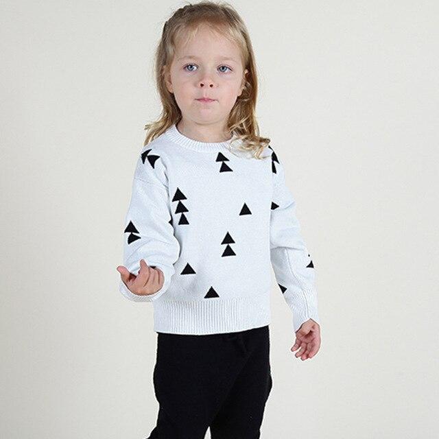INS Hot Sale Age1-5Y Winter Toddler Girls Sweaters Children Outwear Pullover Kids Cardigan Newborn Cachemire Enfant