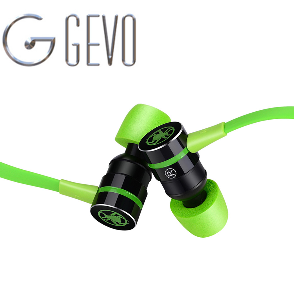 GEVO G20 In ear Headphone Magnetic Stereo Earbuds Gaming Headset Computer Earphone With Microphone For Xiaomi Samsung Phones deppa deppa art case world of tanks зверобой для apple iphone 6 6s чехол бампер