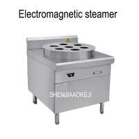 commercial electromagnetic steam boiler High-power  stainless steel breakfast restaurant steamed buns steam machine 12kw 380V