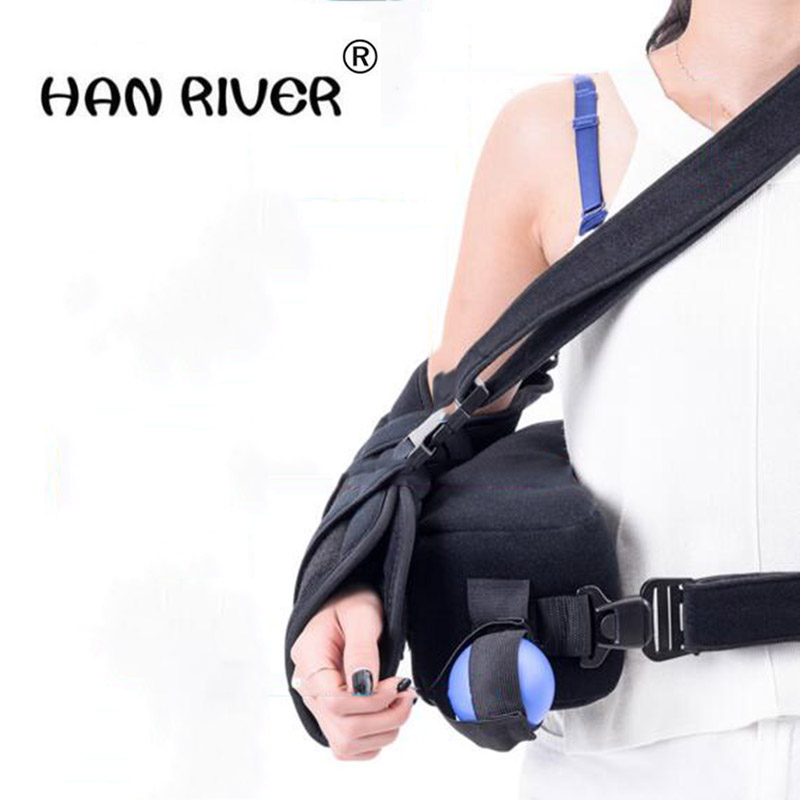 HANRIVERAdjustable shoulder abduction pillows with a fixed orthopedic outreach arm shoulder strap humerus fracture rehabilitatioHANRIVERAdjustable shoulder abduction pillows with a fixed orthopedic outreach arm shoulder strap humerus fracture rehabilitatio