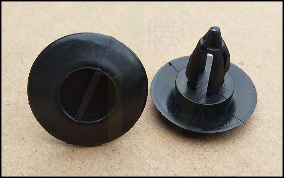 50x Peugeot Sombrero aislamiento Retenedor Clips-Moldura De Plástico Clips Sombrero Forro