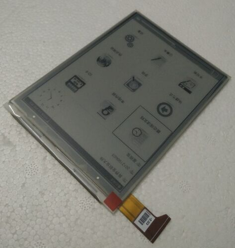 6inch lcd display screen For Digma r660 without Backlight LCD Display Screen E-book Ebook Reader Replacement