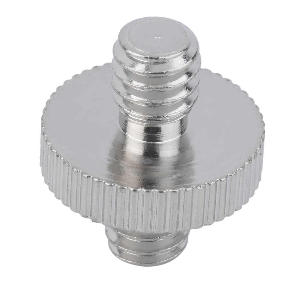 """1/4 """"macho a 1/4"""" macho adaptador de tornillo de cámara para DSLR Fijación de montura de trípode Monopod/cabeza de bola/placa de liberación rápida/soporte de luz de flash"""