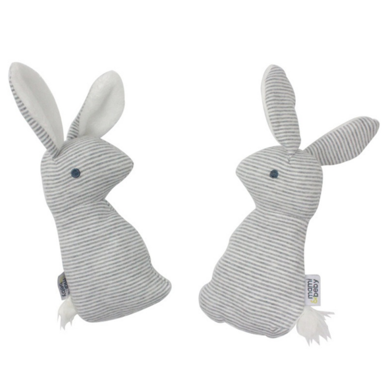 2019 New Baby Rattle Toys Animal Cute Rabbit Hand Bells Plush Baby Toy With BB Sound Toy Gift Christmas Plush Doll