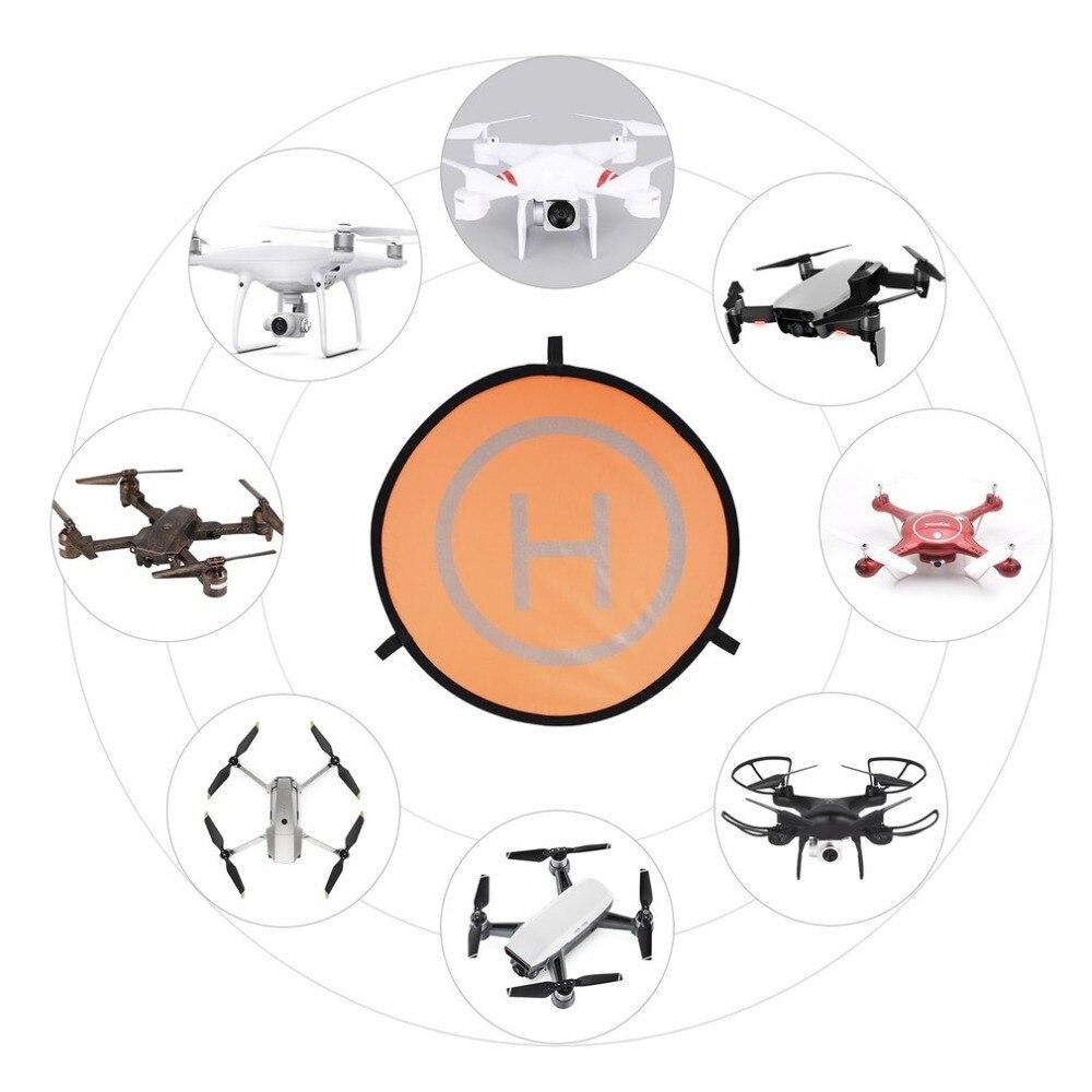 55 cm rápido-fold de aterrizaje Universal FPV Drone de estacionamiento plegable Pad para DJI Spark Mavic Pro FPV las carreras de aviones no tripulados accesorio