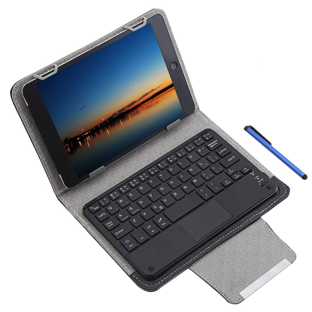 3 in 1 Universal Bluetooth Keyboard Tablet Protective Case Cover with Stander for iOS / Android / Windows 9 / 8 inch