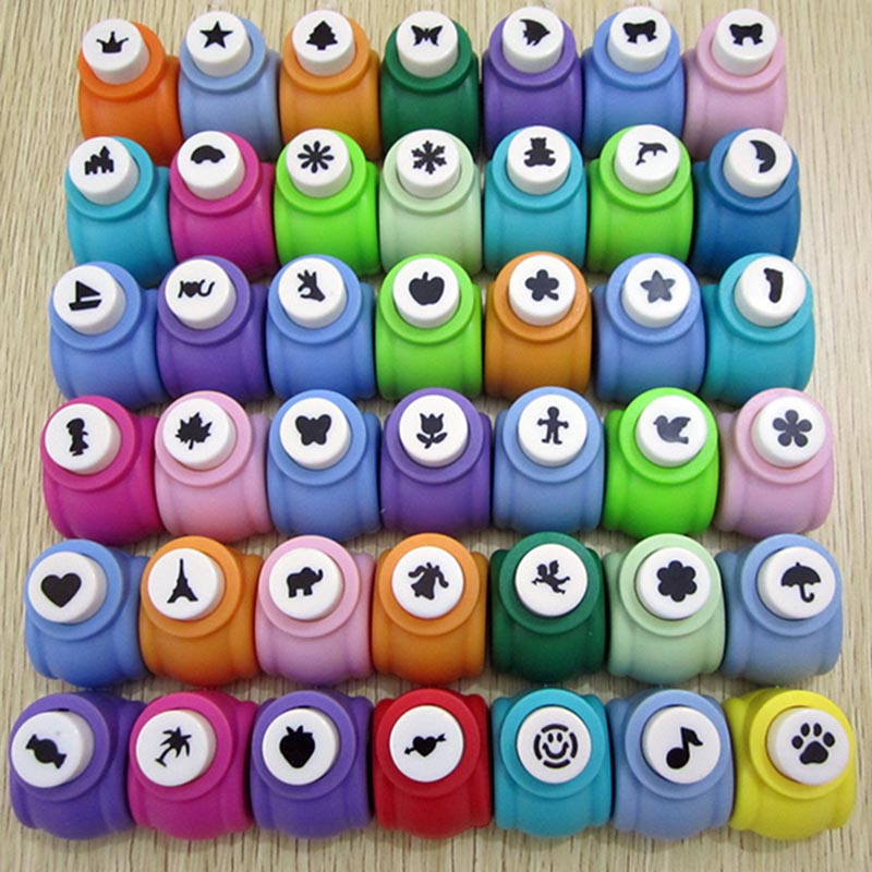 1PC New Mini Paper Punch For Scrapbooking Punch DIY Decoration Children Handmade Card Cr ...