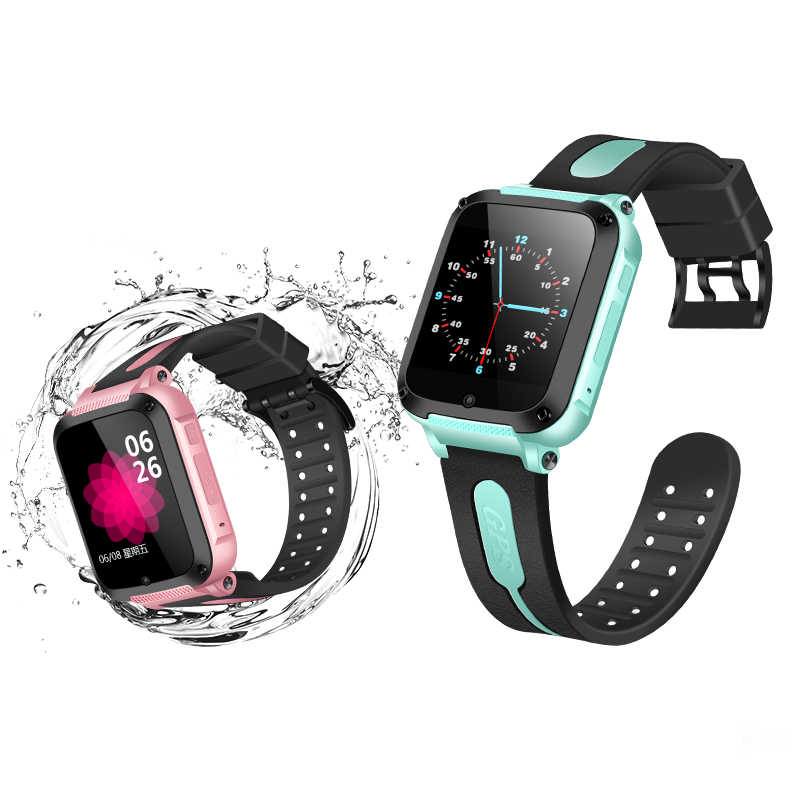 Smart GPS Location SOS Call Remote Monitor Camera Waterproof Wristwatch Tracker Kids Child Student Bluetooth Music Player Watch