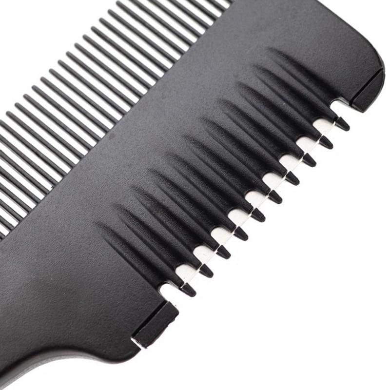 Brainbow 1 unid peine de corte de pelo mango negro cepillos para el - Cuidado del cabello y estilo - foto 5