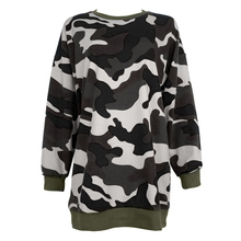 Camouflage Military Print Magazine Hoodies Men Women Camo Thrasher Streetwear Male Hip Hop Army Green Pullover