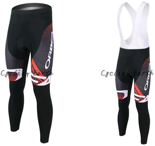 Uomini di Orbea Ciclismo Long (Bib) Pantaloni Bibtight Bici Da Strada Ciclismo Inferiore Solo Plus size XS-5XL