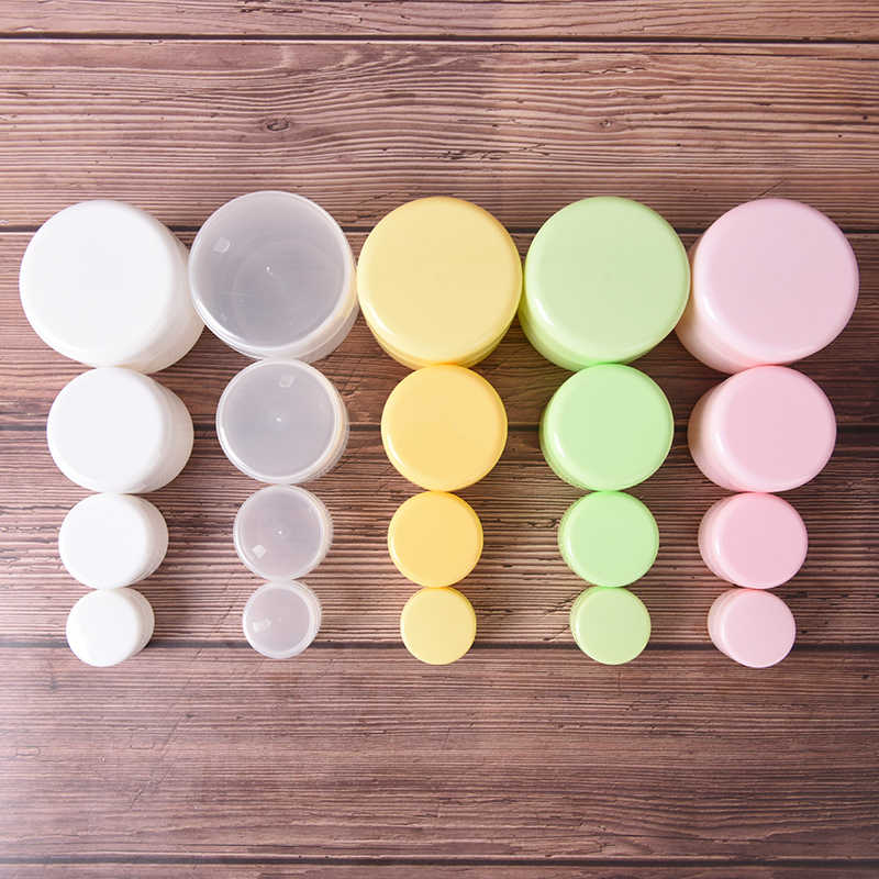10g/20g/50g/100g Plastic Portable Empty Jars Pots Pill Case Travel Home Medical Drugs Medicine Boxes Tablet Empty Container