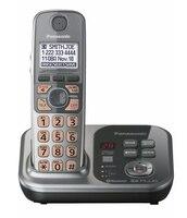 1 Słuchawek KX-TG7731S 1.9 GHz Cyfrowe bezprzewodowe DECT 6.0 Link do Komórek telefonu przez Bluetooth Telefon Bezprzewodowy z systemu Sekretarka