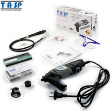 TASP 170 W de Velocidad Variable Herramienta Rotatoria Dremel Mini Electric Drill Set con Eje Flexible y Accesorios