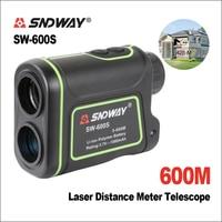 Sndway golf laser rangefinder fita medidor de distância caça monocular telescópio trena laser alcance finder medida 600 m SW 600S|Telêmetro a laser| |  -