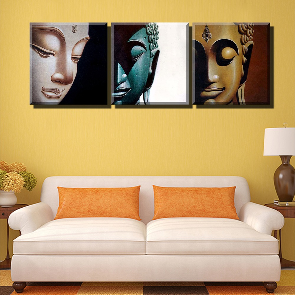 Free Shipping 5 Panel Wall Art city Oil Painting On Canvas Textured ...