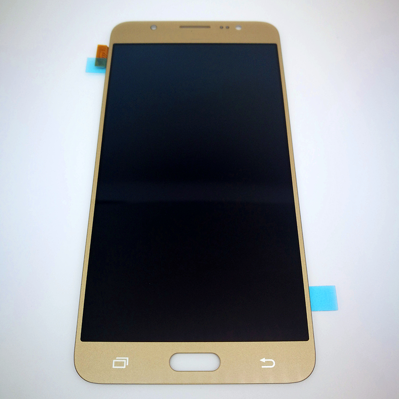 For Samsung Galaxy J7 2016 J710 SM-J710F J710M J710H J710FN LCD Display With Touch Screen Digitizer with brightness adjust