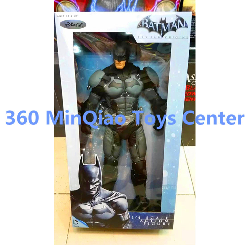 Statue Avengers Batman:Arkham City 1:4 The Dark Knight Rises 18 inch Oversized PVC Action Figure Collectible Model Toy WU852 batman the arkham city arkham origins the joker pvc action figure collectible model toy new in box wu439