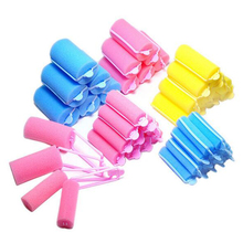 Magic Sponge Foam Cushion Hair Styling Rollers Popular Foam Soft Sponge Hair Roller Hair Curler Roller 5 Sizes To Choose