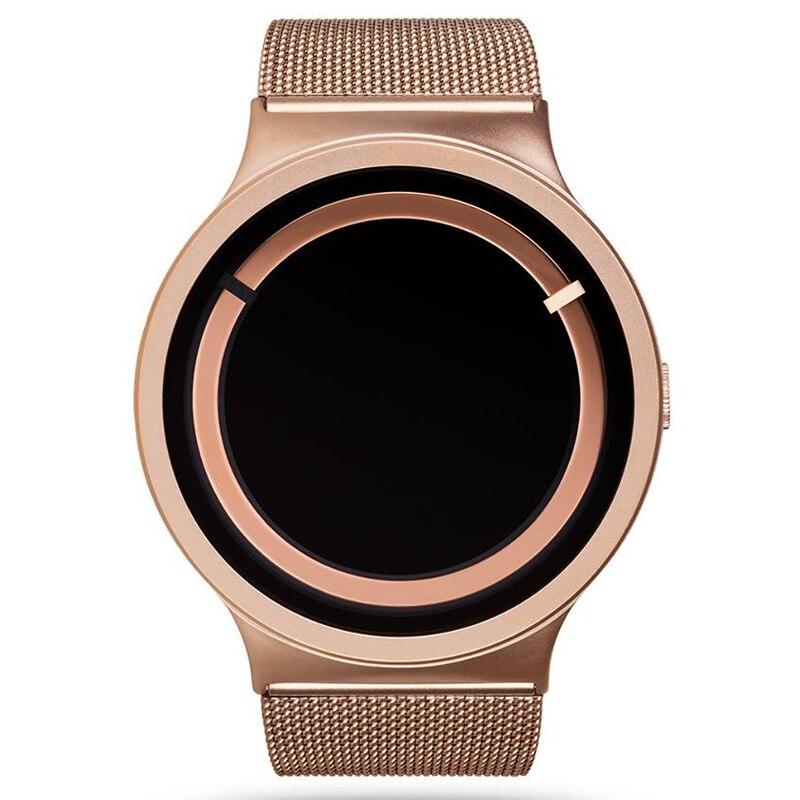 Роскошные Для мужчин мужские часы 2018 кварцевый Повседневное часы для женщина мужчина часы Для мужчин полный Нержавеющаясталь rosefie xfcs часы ...