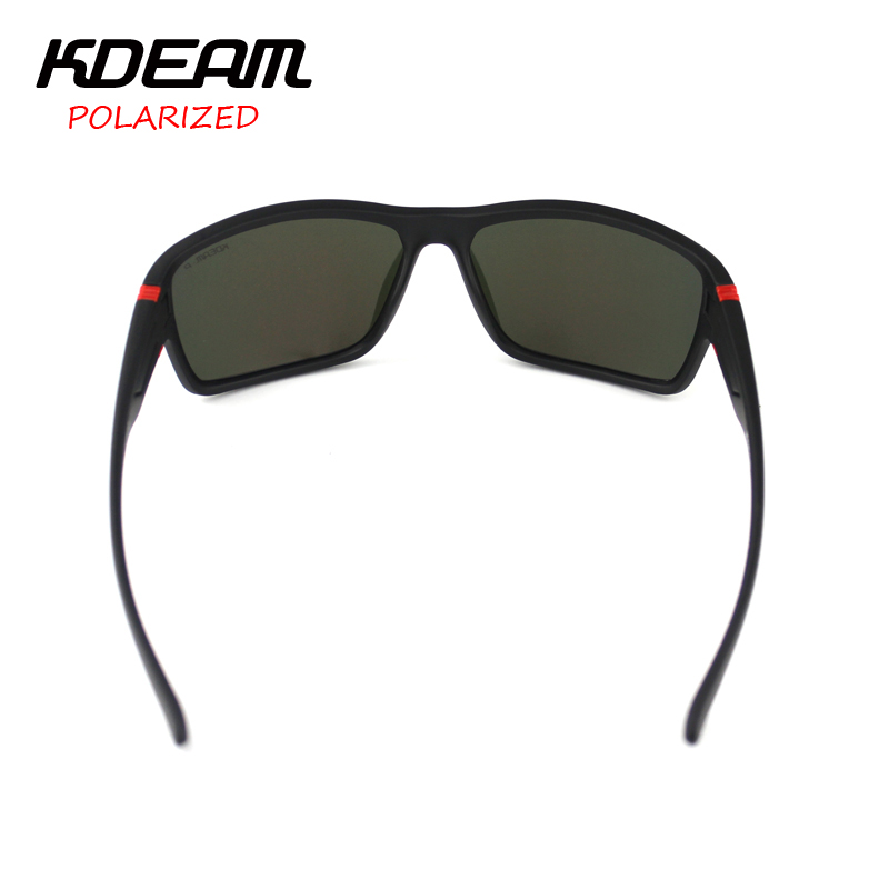 e8807a78594 KDEAM 2019 Summer Polarized Sunglasses men HD Polaroid lens Exercise Sun Glasses  Goggles With Brand Hard Box lentes de sol KD510-in Sunglasses from Apparel  ...