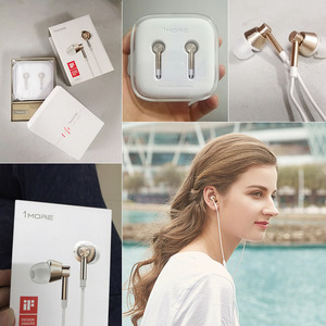 Image 5 - 1MORE 1M301 Piston In Ear Earphone for phone Super Bass Earpiece with Microphone for Apple iOS & Android xiaomi xiomi Phone