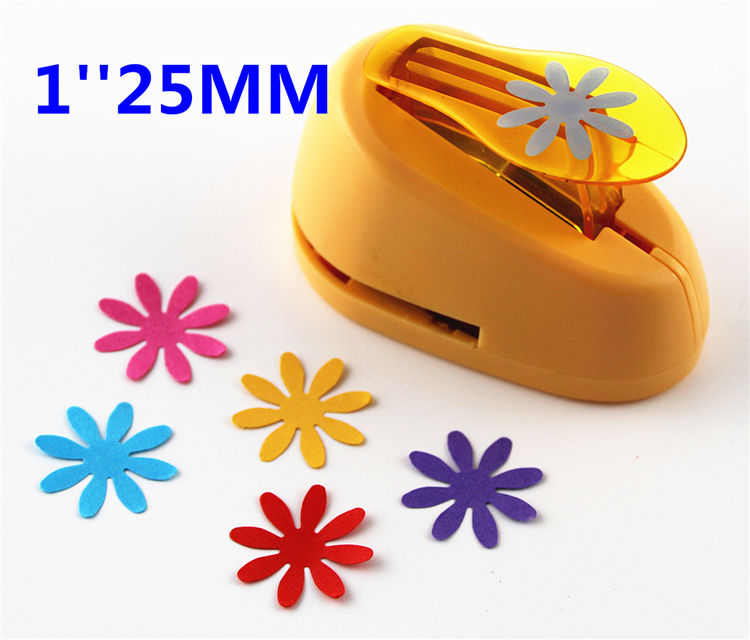 Free Shipping 25mm Paper Puncher For Scrapbooking Furador Papel Flower DIY Craft Punch Creative Embosser Punch Card MakingS2951