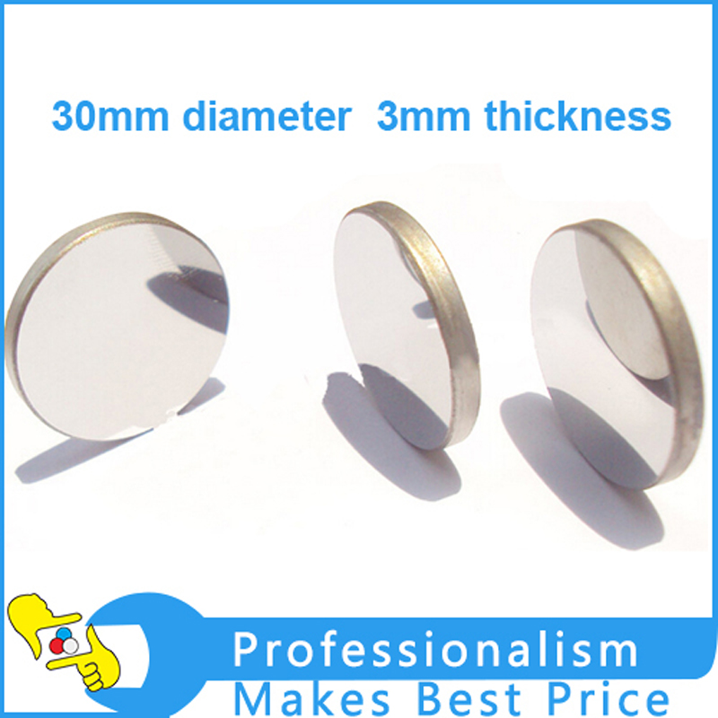3mm thickness 30 diameter MO material reflect mirrors CO2 laser reflective mirror for laser engraving machine