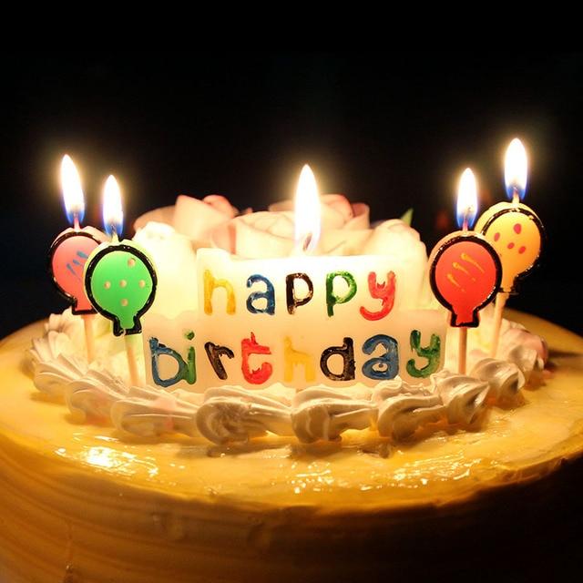 Xunzhe Birthday Cake Candles Creative Kids Happy Birthday Mini