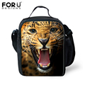 2016 new fashion kids lunch-box animal 3d kids lunch bags cool picnic thermal lunchbox children Insulated zoo lunch bag Gifts