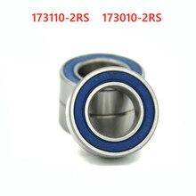 Rolamento de esferas do cubo da bicicleta, rolamento de esferas 173110 173010 2rs 17x31x10 17x30, 20 peças rolamentos fundo da bicicleta x 10mm, 17*31*10