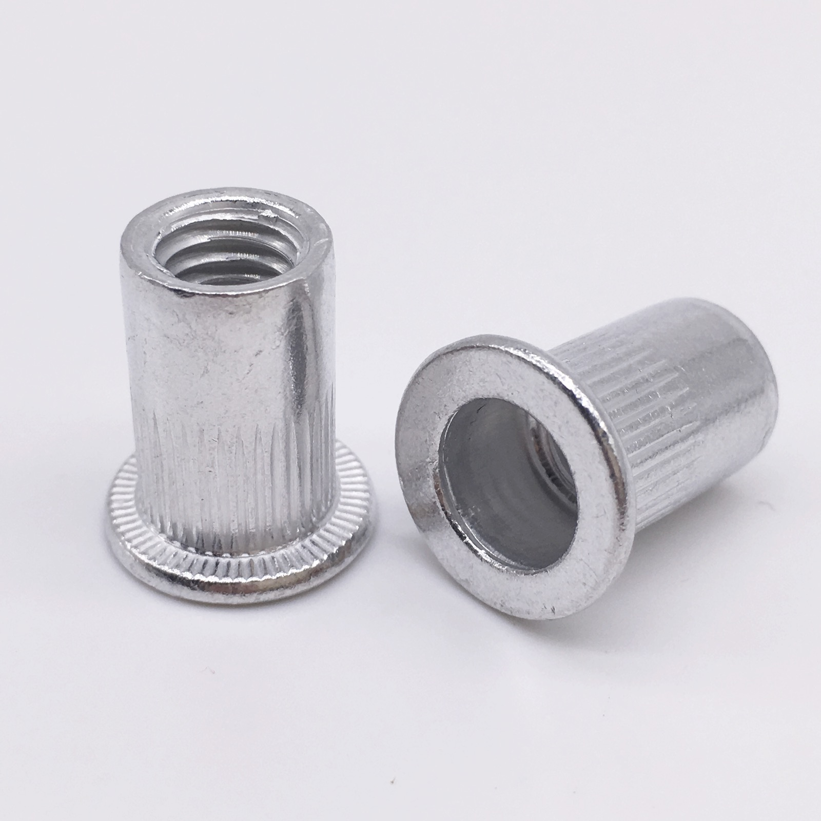 M4 M5 M6 M10 Aluminum Rivets Nuts Threaded Inserts Nutserts Rivnut ...