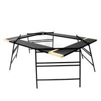 Promo Nuevo tipo de mesa de barbacoa al aire libre Red Unida para acampar por picnic plegable