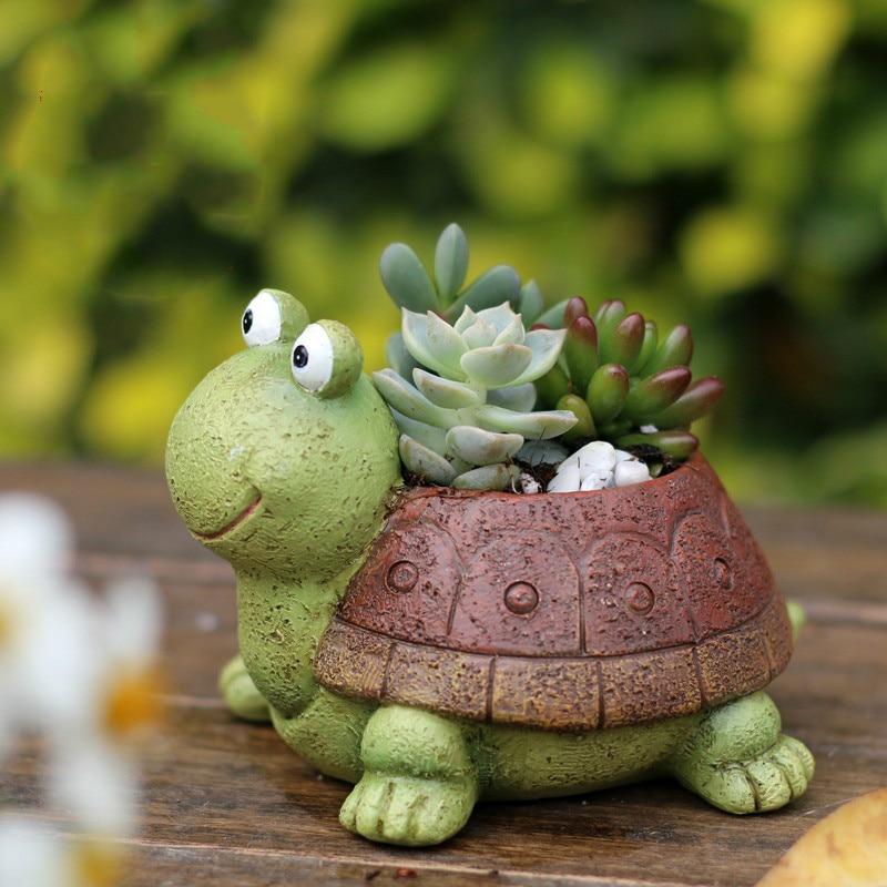 Freeshipping Creative Gawk Tortoise Balcony Garden ...