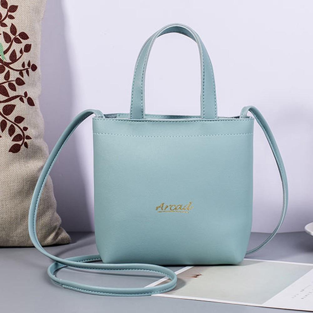 Bags For Handbag Totes Solid-Shoulder-Bag Vintage Women Large-Capacity Girls Letter Damskie